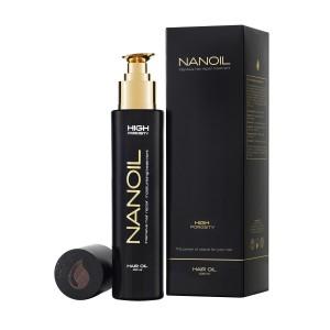 olejek do włosów Nanoil wysokoporowate high porosity